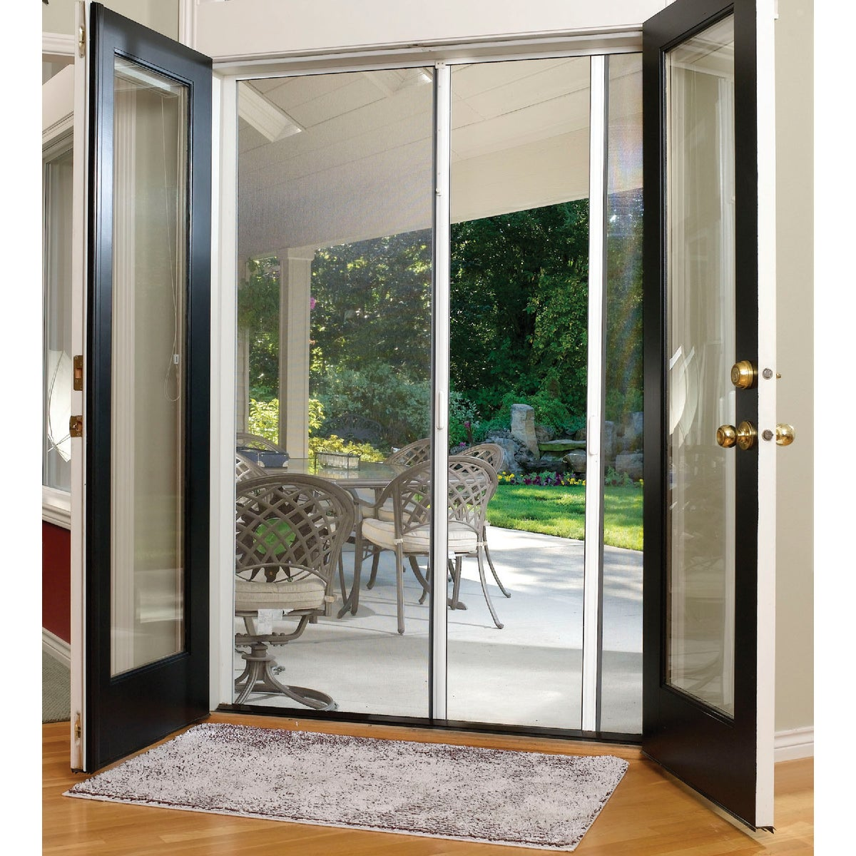 "84"" RETRACTABLE SCREEN - E200 by Larson Mfg Co"