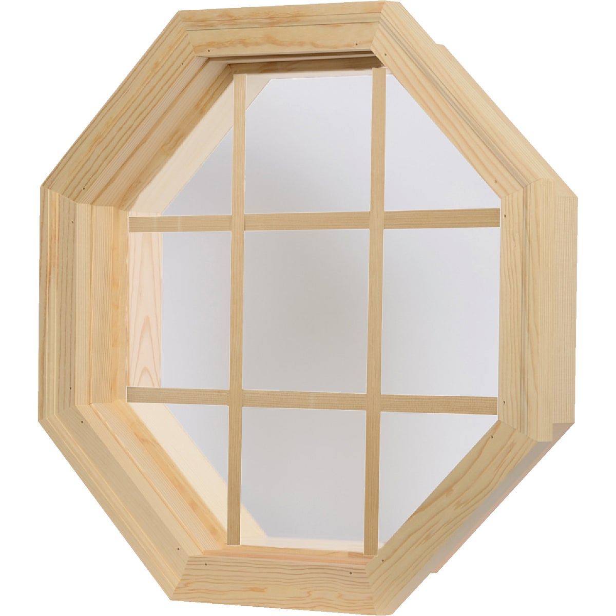 Wd Octagon Single Window