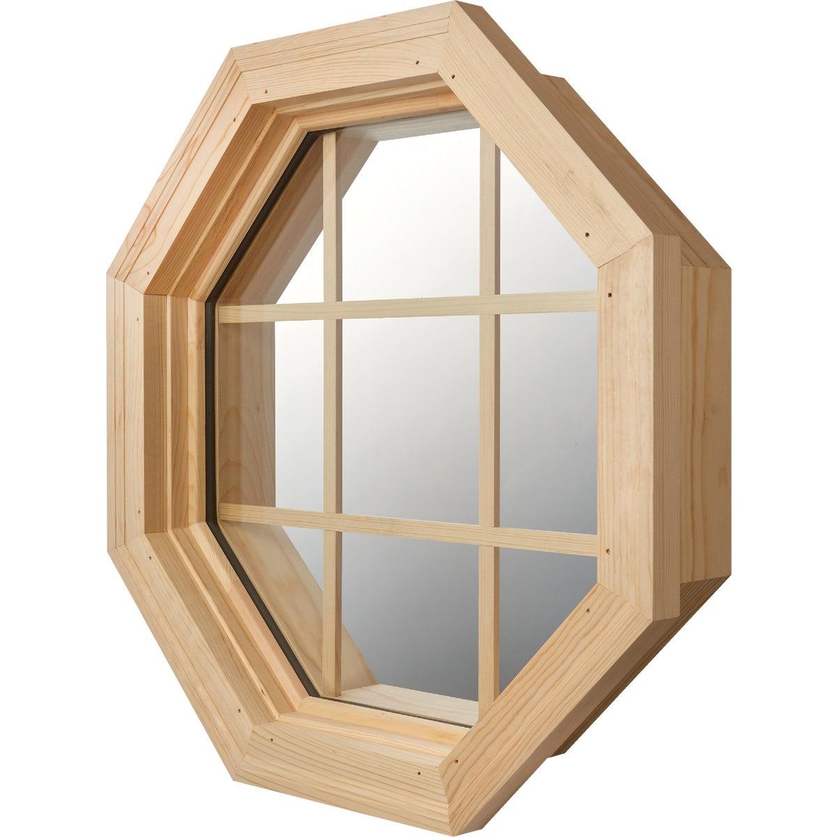 Wd Octagon Inslat Window