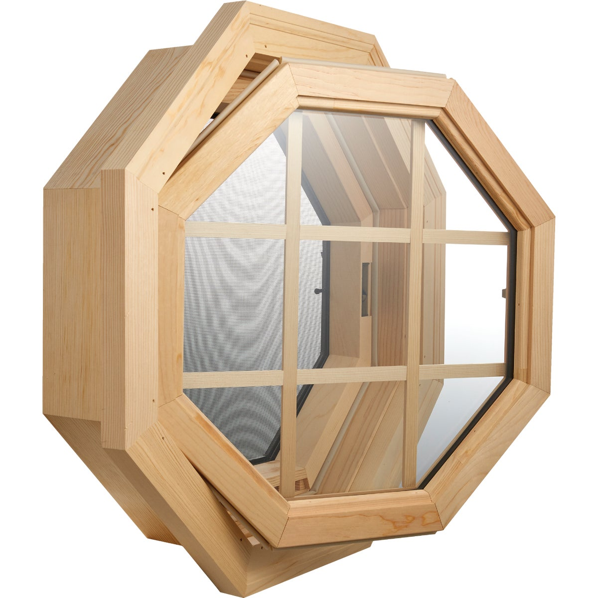 WD OCTAGON VENT WINDOW
