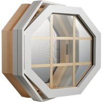 Century Specialty WHT VNYL VENT OCT WINDOW 21112