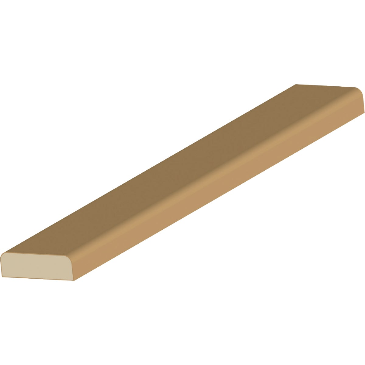 LWM876 7' FJB DOOR STOP - L87670FJB by Jim White Millwork
