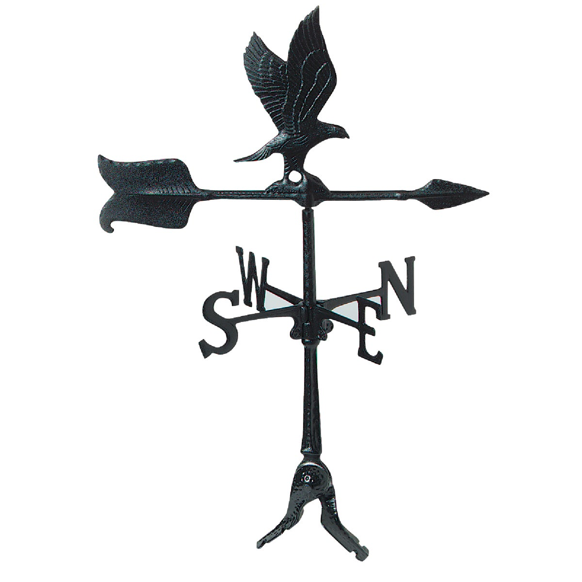 "24"" BLK EAGLE WINDVANE - WV3-A-50SR-BKND by Whitehall Products"