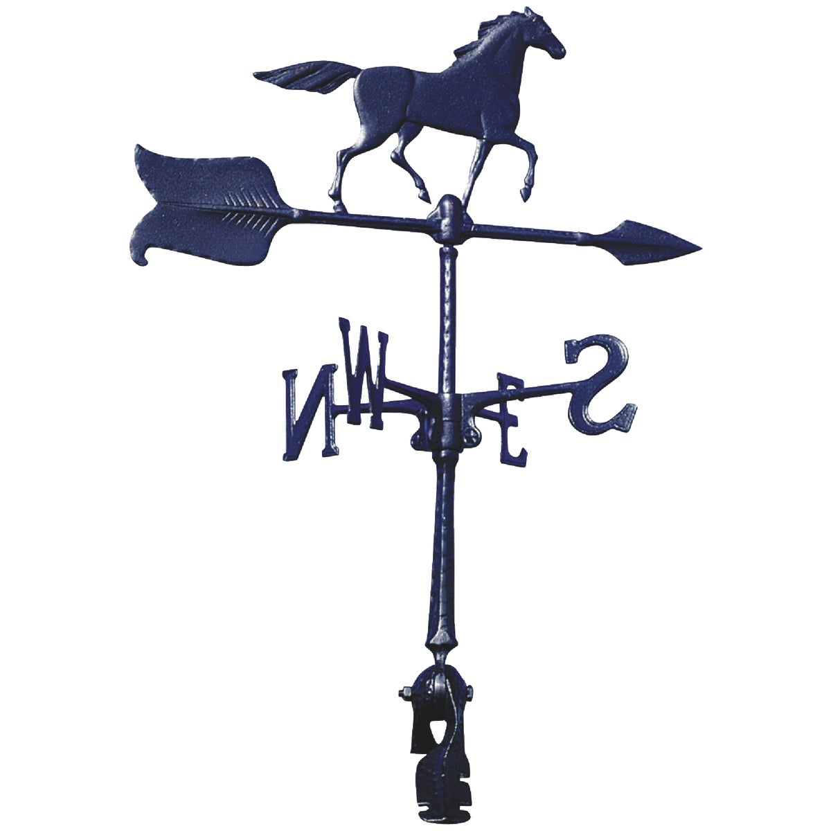 "24"" BLK HORSE WINDVANE - WV3-A-74SR-BKND by Whitehall Products"