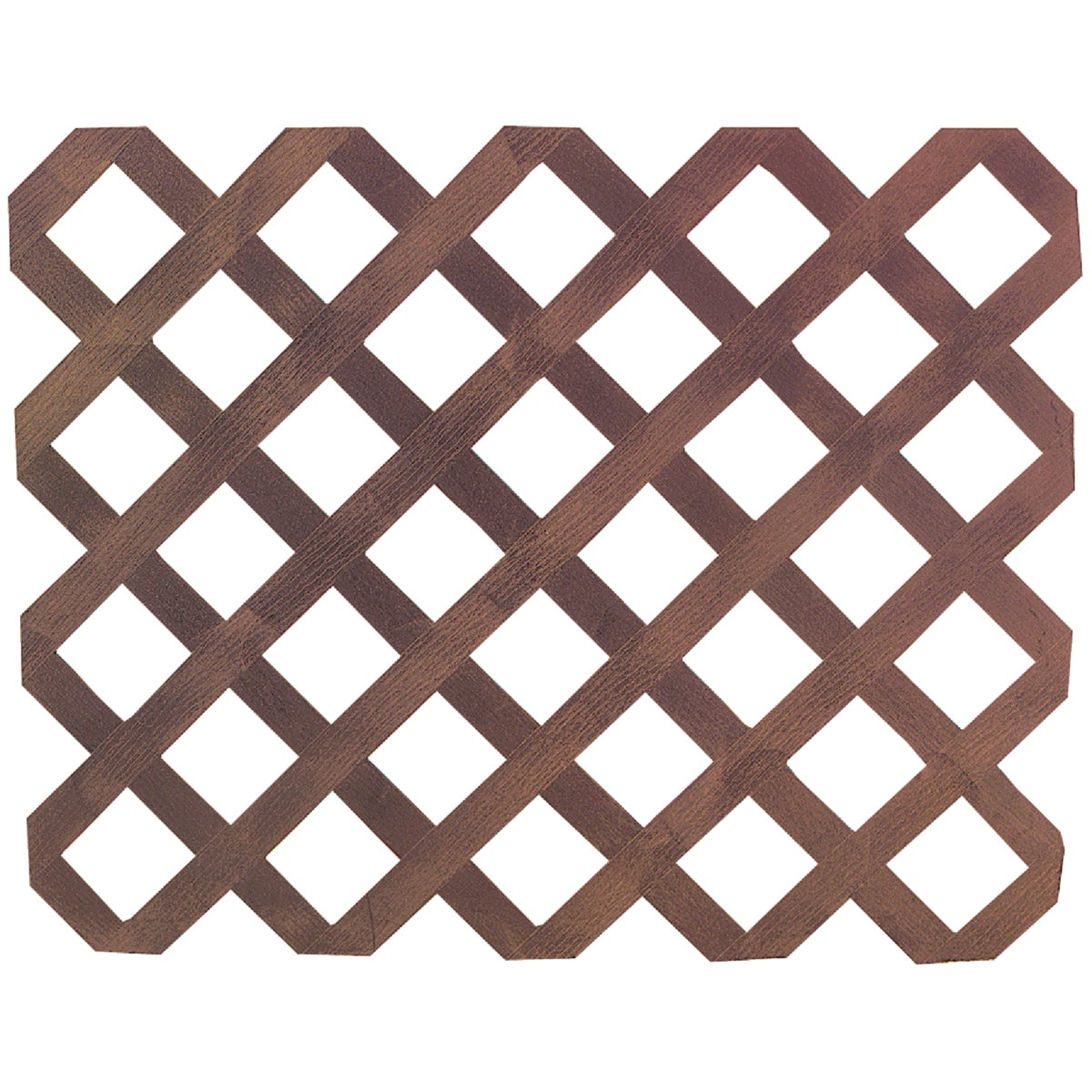 "2-5/8""SP HD CDR LATTICE - 4X8X3/4 by Real Wood Products"