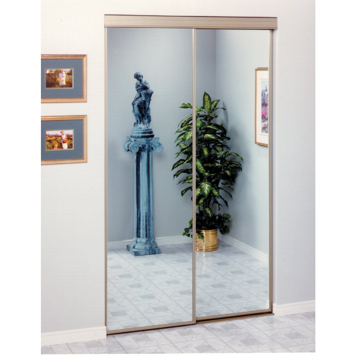 2002 47X80 GOLD BIPSS DR - 24-8001 by Home Decor Innov