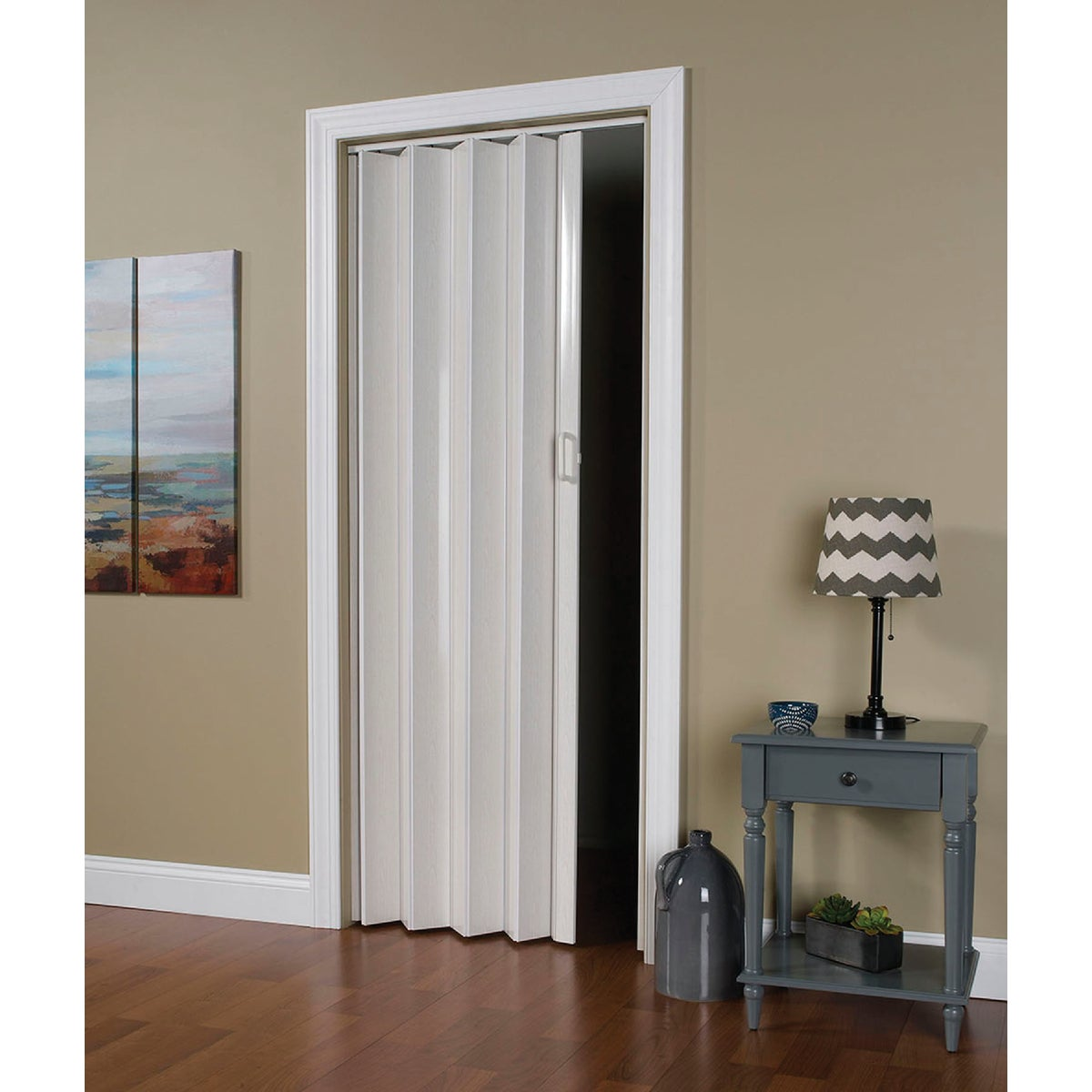 36X80 F WHT FOLDING DOOR - OK32-3680F by L T L Home Products