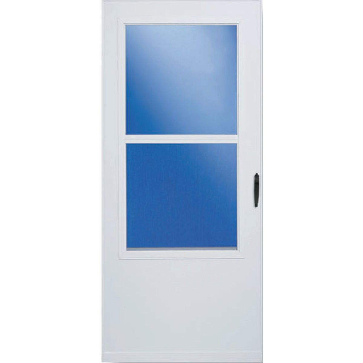 "32"" WHT SELF-STOR DOOR - 298SS by Larson Mfg Co"