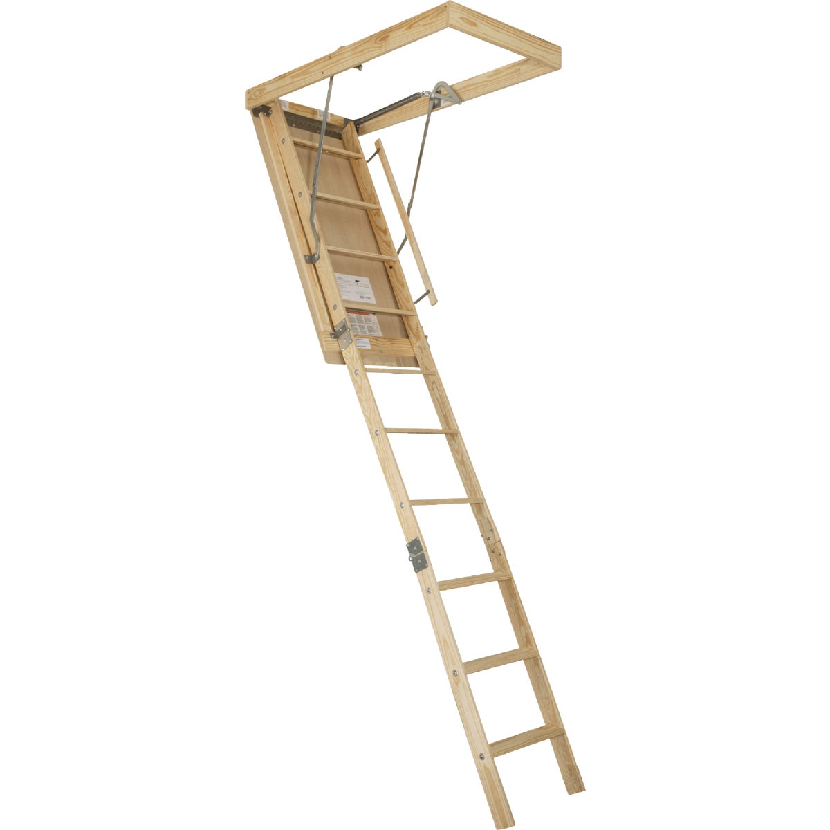 25X105 FIRE ATTIC STAIR - BE89F by Louisville Ladder