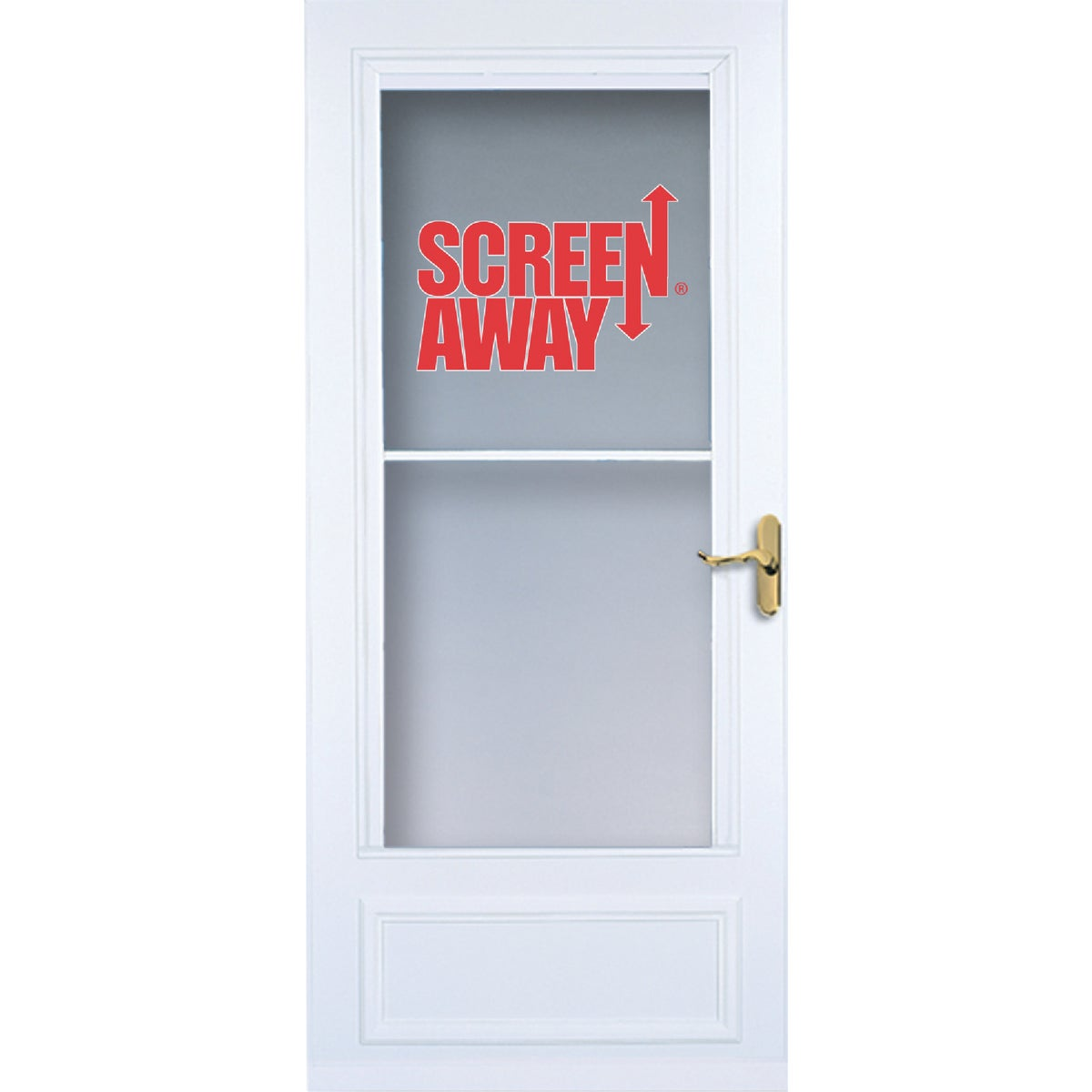 "36"" WHT SCREENAWAY DOOR - 83080 by Larson Mfg Co"