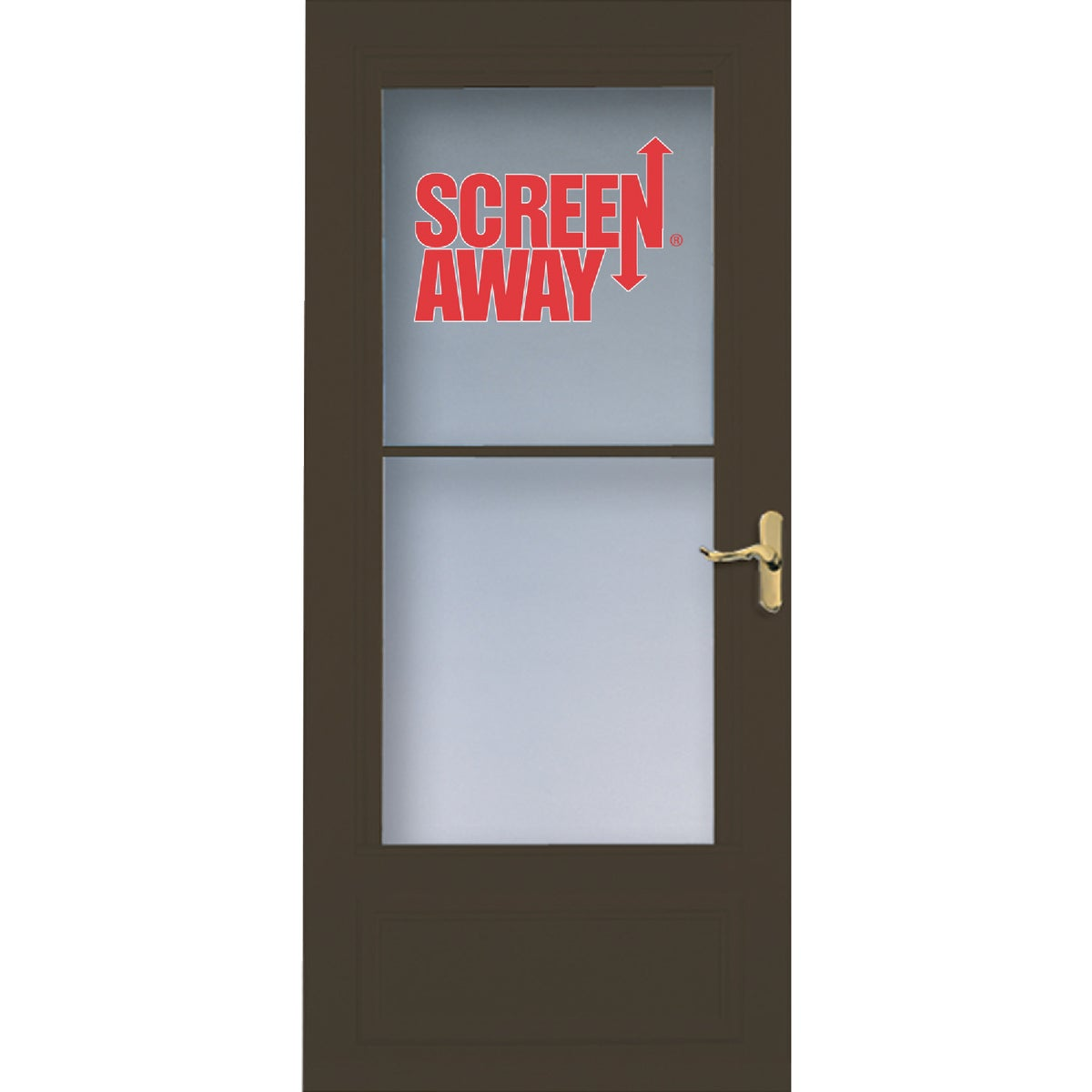 "36"" BRN SCREENAWAY DOOR - 83080 by Larson Mfg Co"