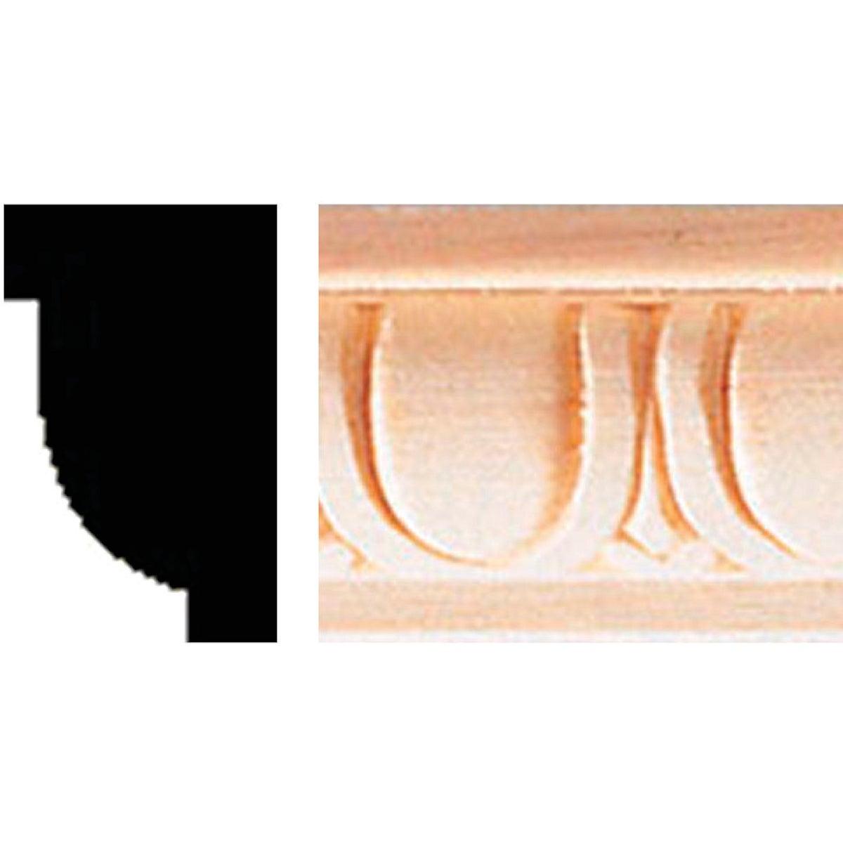 Egg & Dart Molding Strip
