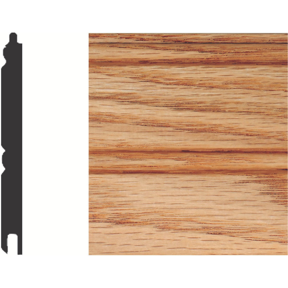 "5/16X3-1/8""X8' WAINSCOT - W96O by House Of Fara Inc"