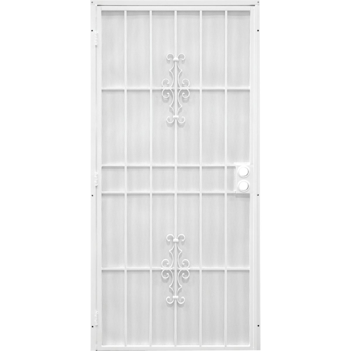 "36"" WHT SECURITY DOOR - 3853WH3068 by Superior Building Pr"