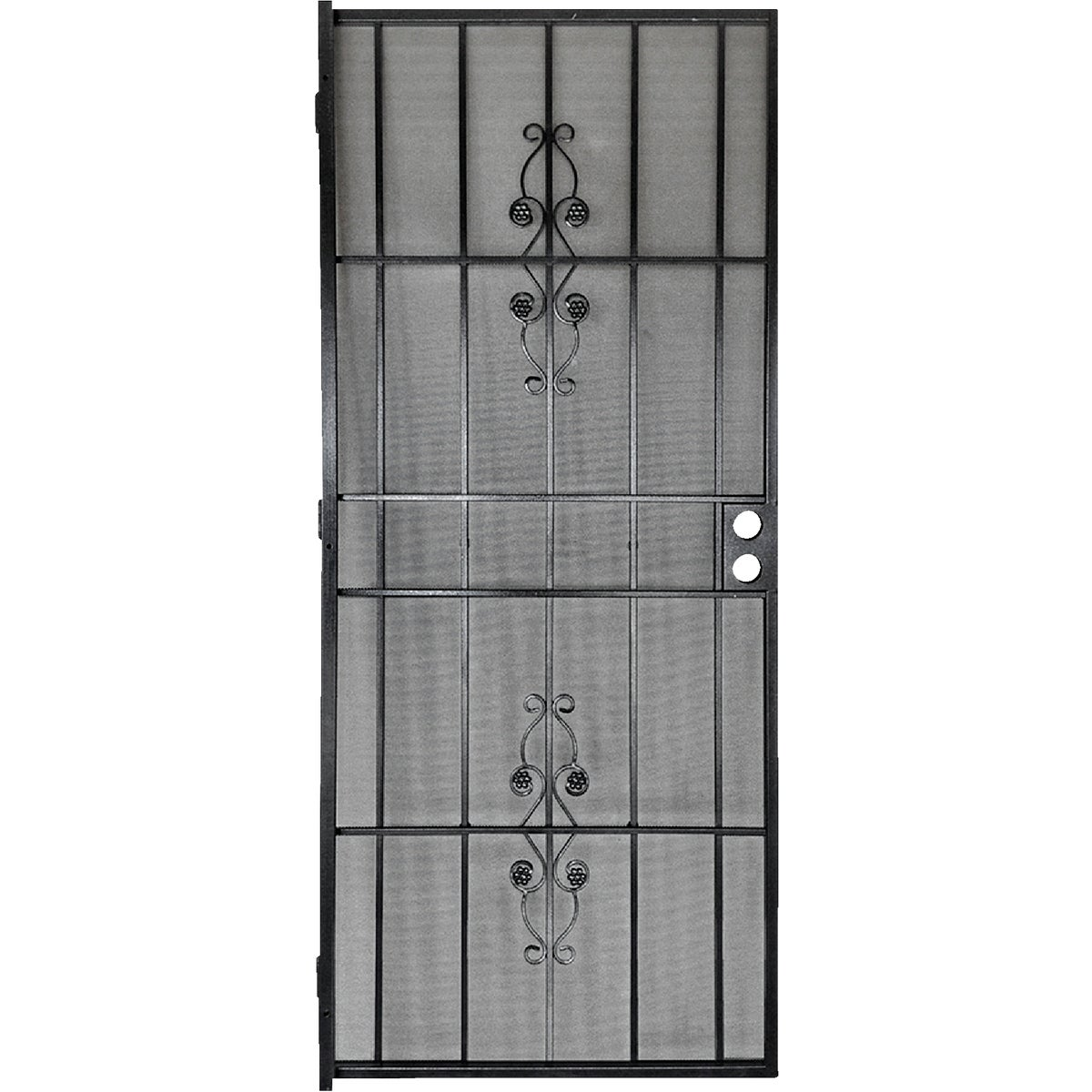 "36"" BLK SECURITY DOOR - 3853BK3068 by Superior Building Pr"