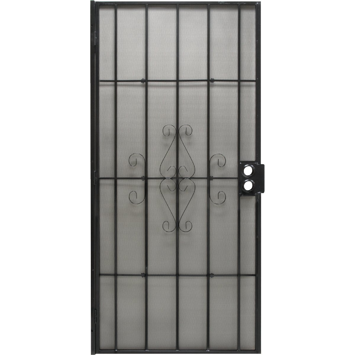 "32"" BLK SECURITY DOOR - 3818BK2868 by Superior Building Pr"