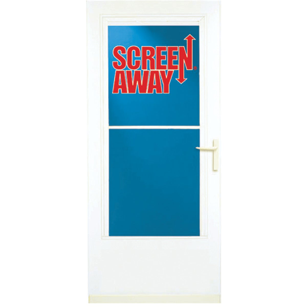 "36"" WHT SCREENAWAY DOOR - 37081 by Larson Mfg Co"