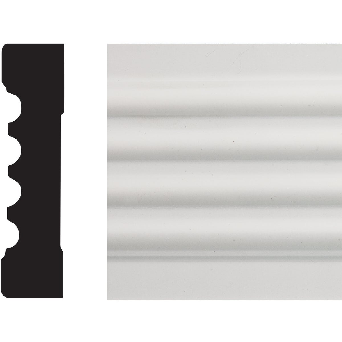 3/4X3 FLUTED CASING