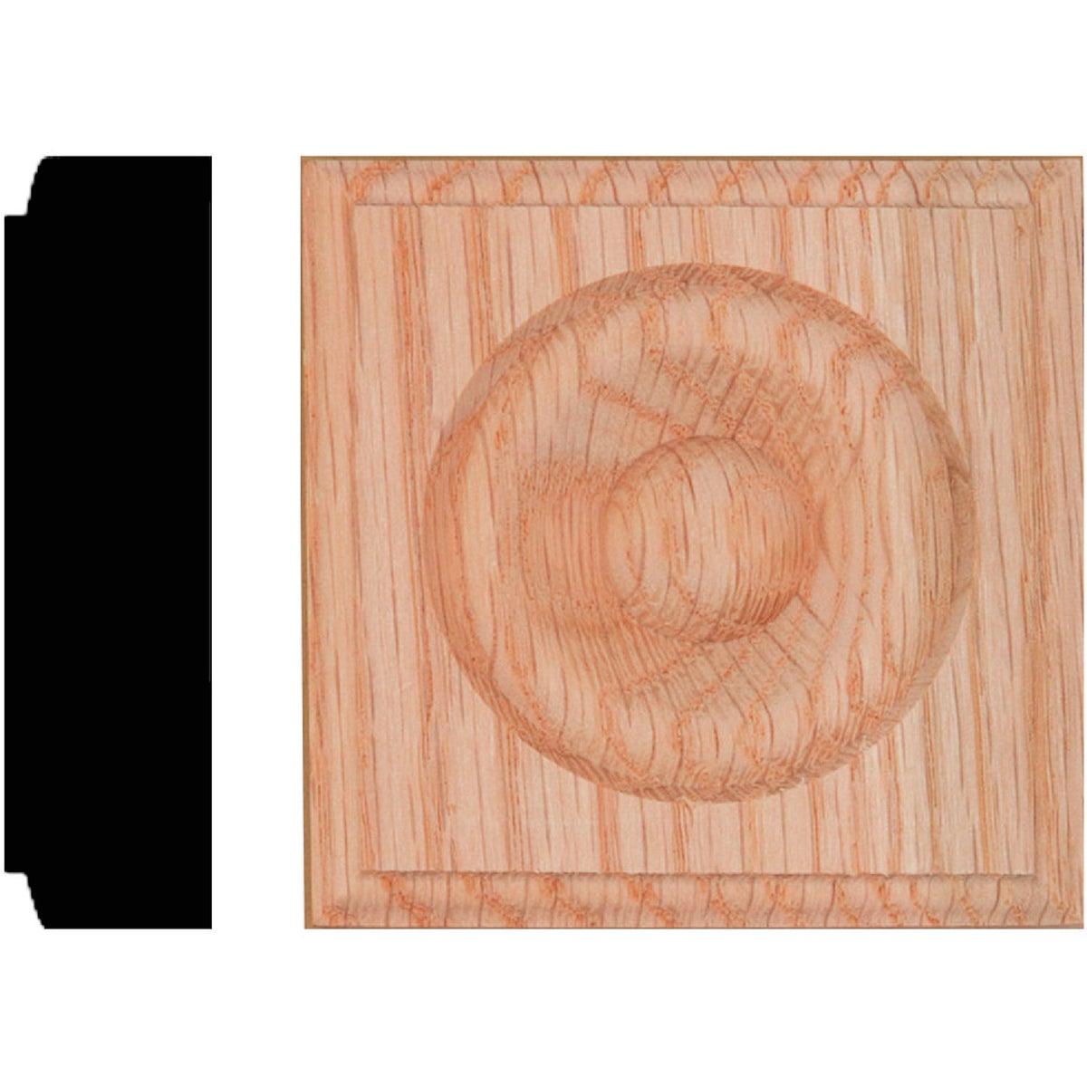 7/8X3-1/4 Oak Rosette