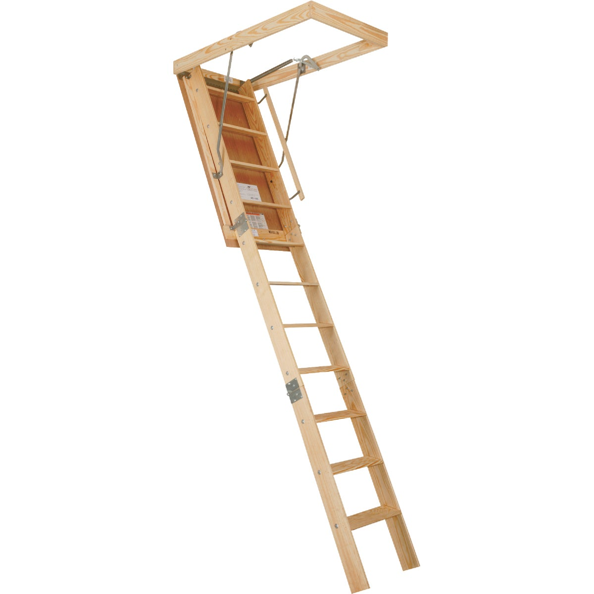 22X120 PREM ATTIC STAIR - AET100 by Louisville Ladder