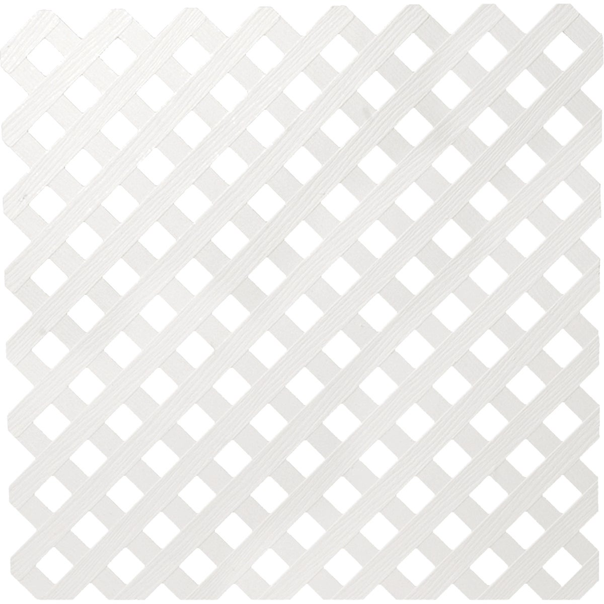 4X8 WHT PRIVACY LATTICE - 79938 by Ufpi   Plstc Lattice