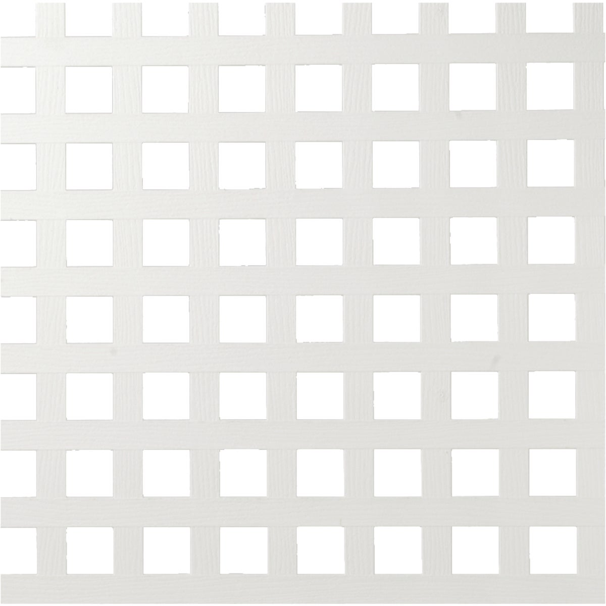 4X8 WHT SQ PRVY LATTICE - 79959 by Ufpi   Plstc Lattice