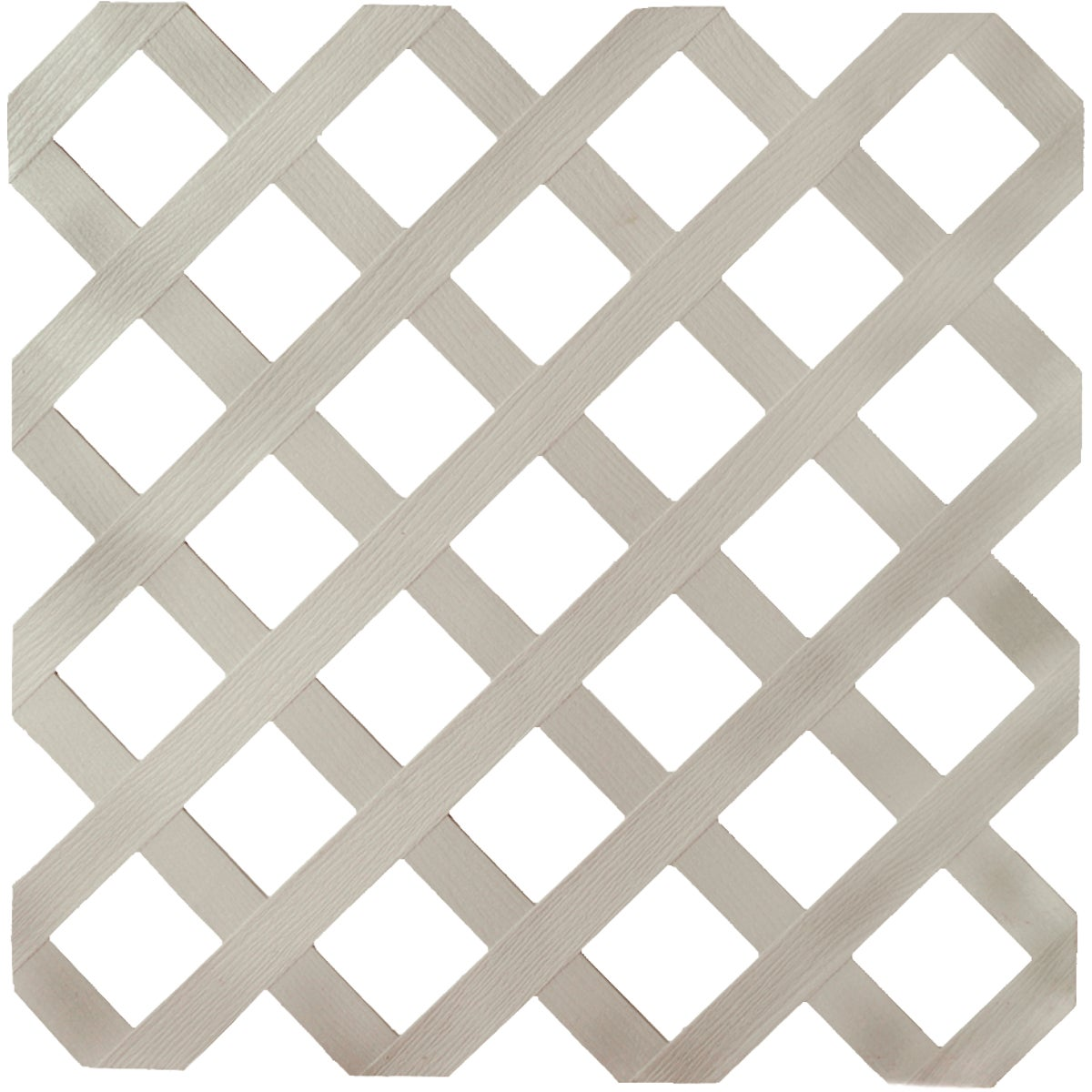 4X8 GRAY LATTICE - 79901 by Ufpi   Plstc Lattice