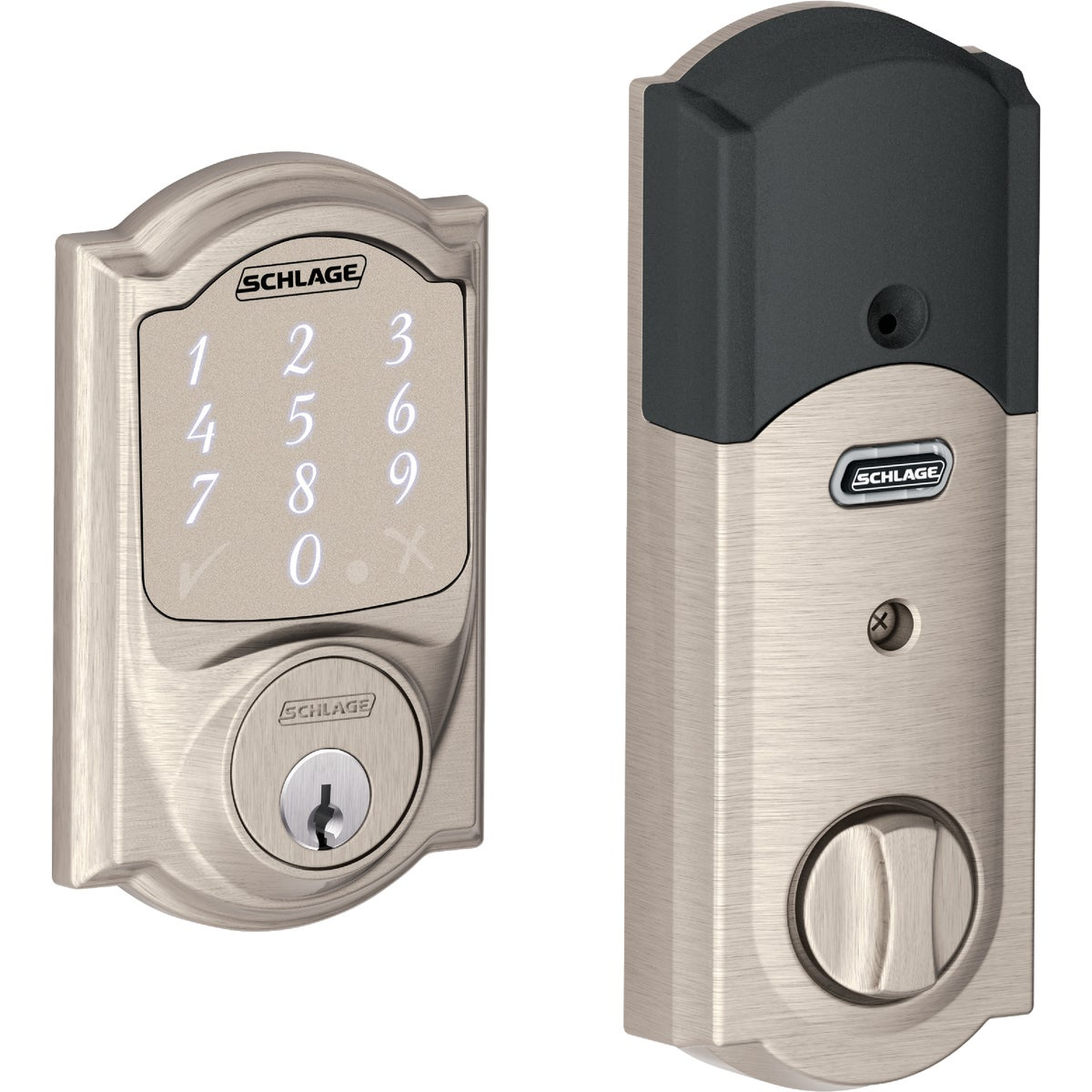 Schlage FB50NVSIE619 SN SIENA ENTRY COMBO Schlage Lock Company