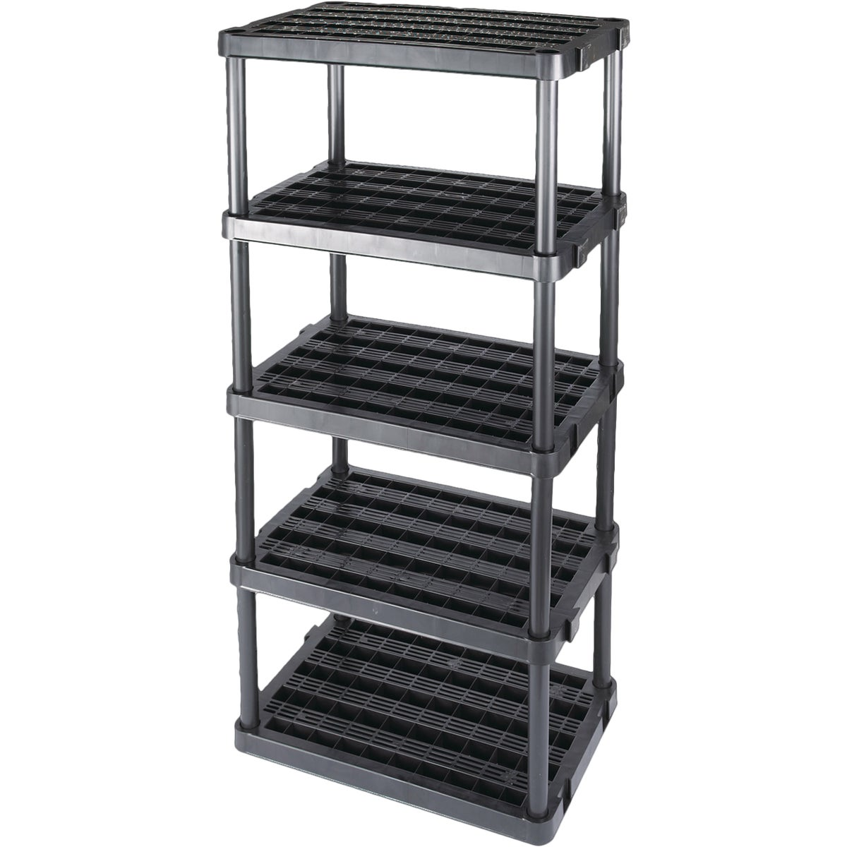5 TIER 72X36X24 SHELF - 5TBLK24 by Centrex Plastics Llc