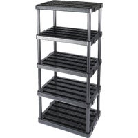 Plano GRAY 5-SHELF VENTED UNIT 9618
