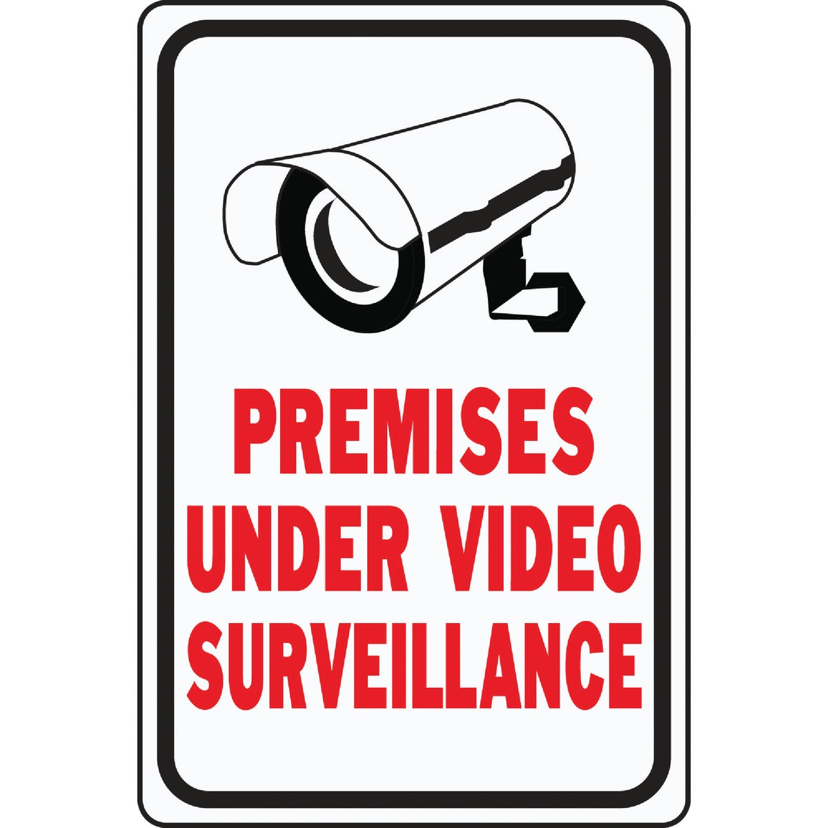 VIDEO SURVEILLANCE SIGN - HW-201 by Hy Ko Prods Co