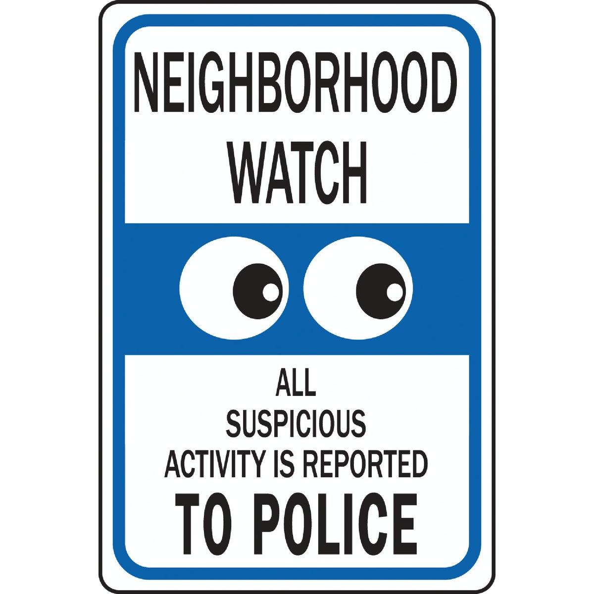NEIGHBORHOOD WATCH SIGN - HW-28 by Hy Ko Prods Co
