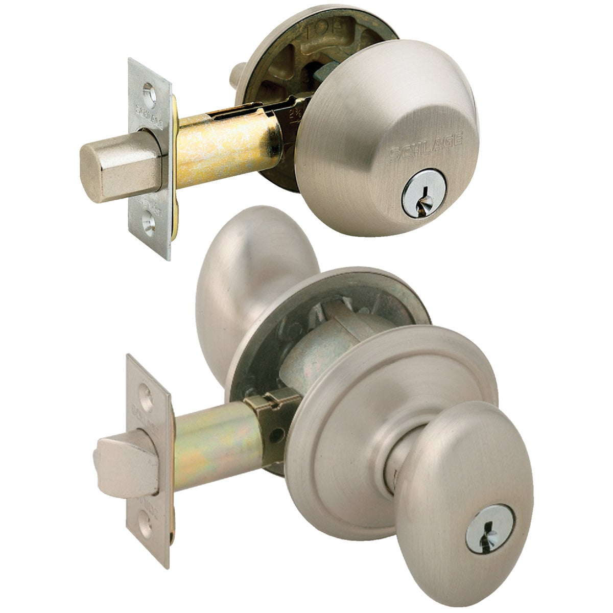 SN SIENA ENT COMBO LOCK - FB50NVSIE619 by Schlage Lock Co
