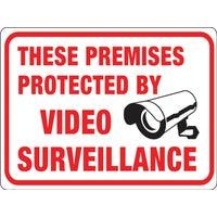 Hy-Ko Video Surveillance Sign, 20619