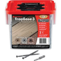 FastenMaster TrapEase 3 Ultimate Composite Deck Screw, FMTR3-212-350ENBD