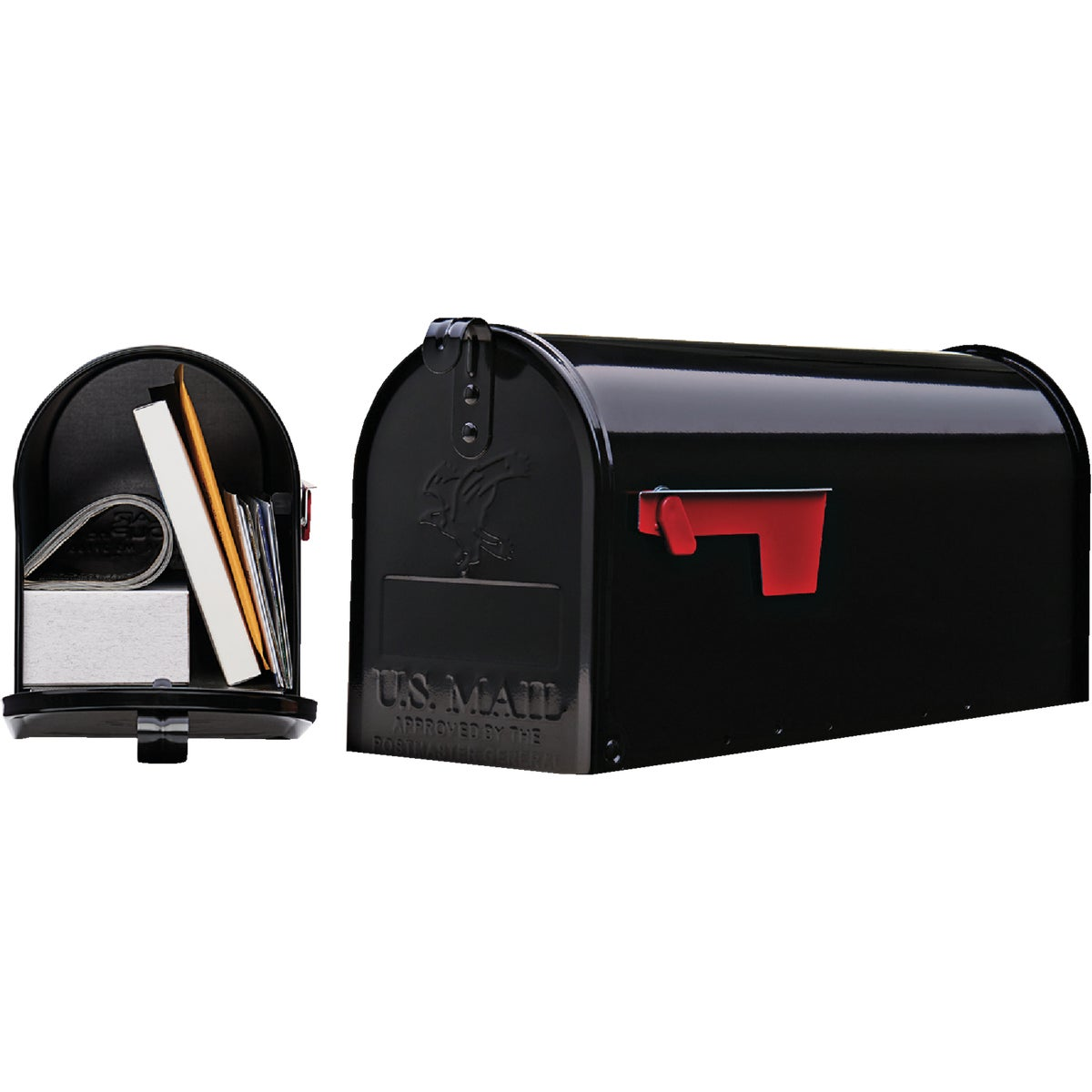BLACK T1 MAILBOX - E11B#T1 by Solar Group