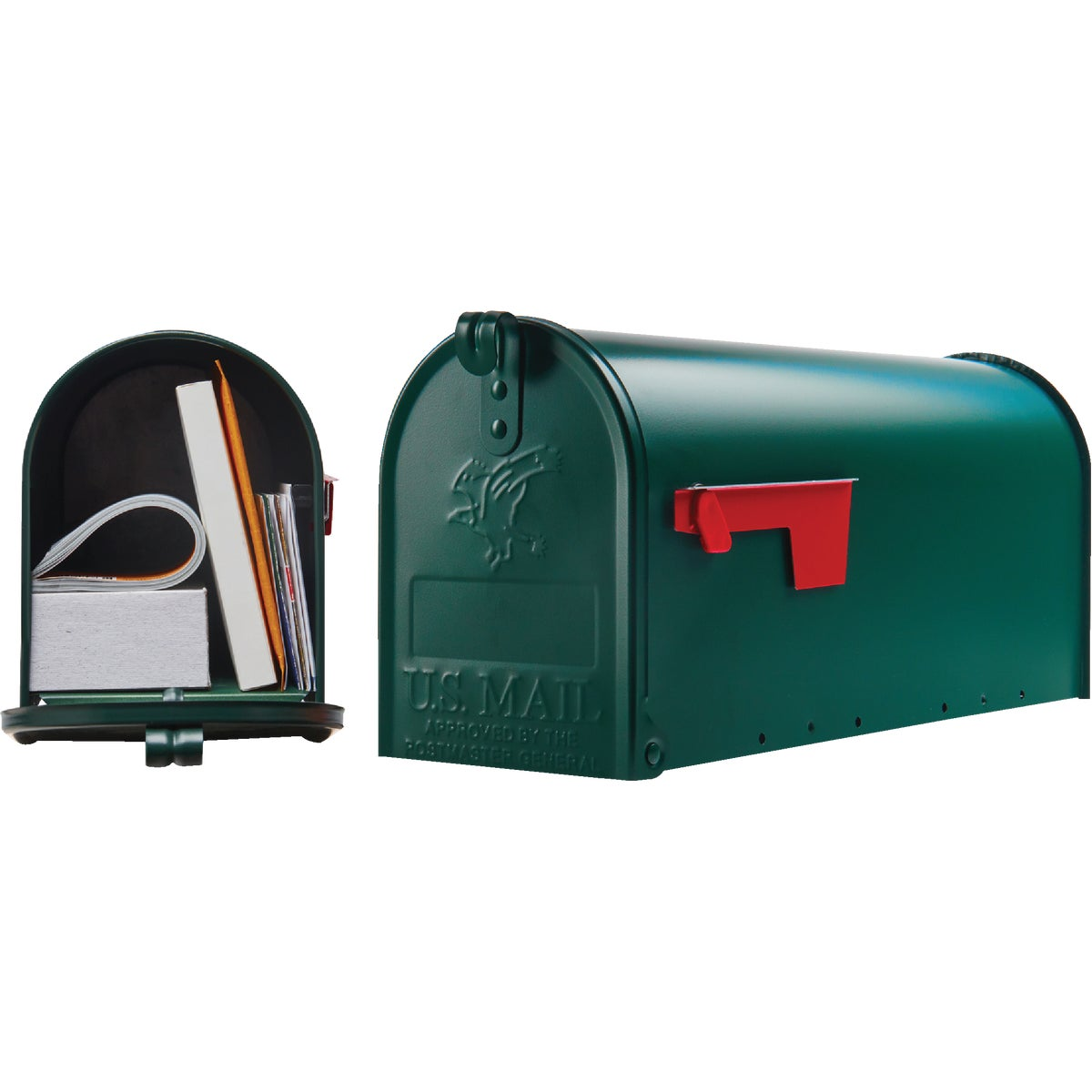 GREEN T1 MAILBOX - E11G#T1 by Solar Group