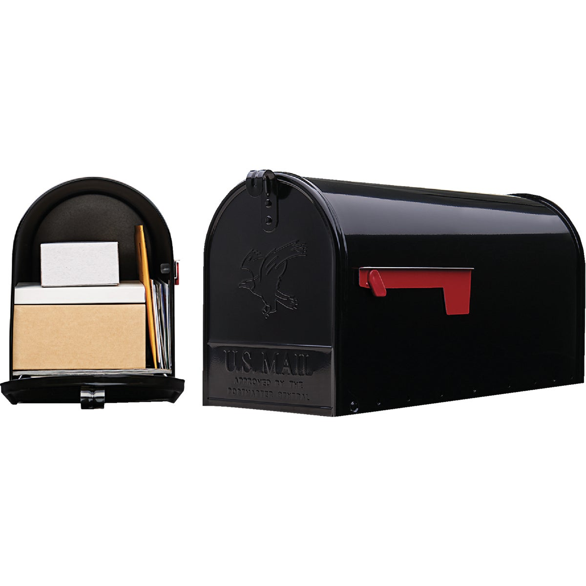 BLACK T2 MAILBOX - E16B#T2 by Solar Group