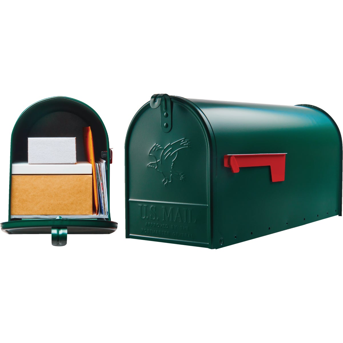 GREEN T2 MAILBOX - E16G#T2 by Solar Group