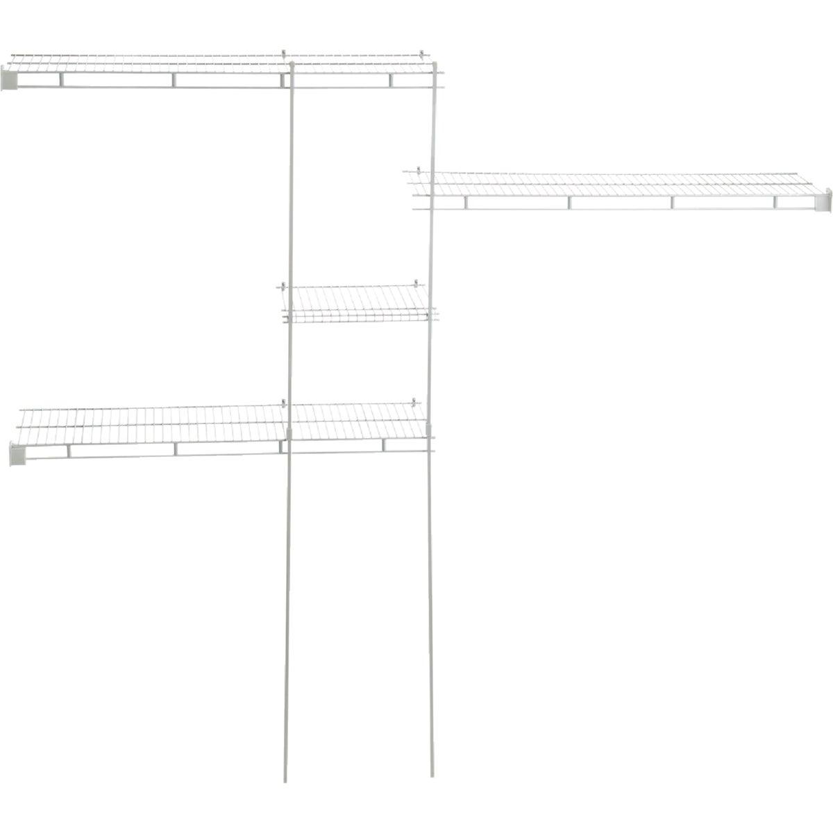 ClosetMaid 5' to 8' Shelf and Rod Closet System