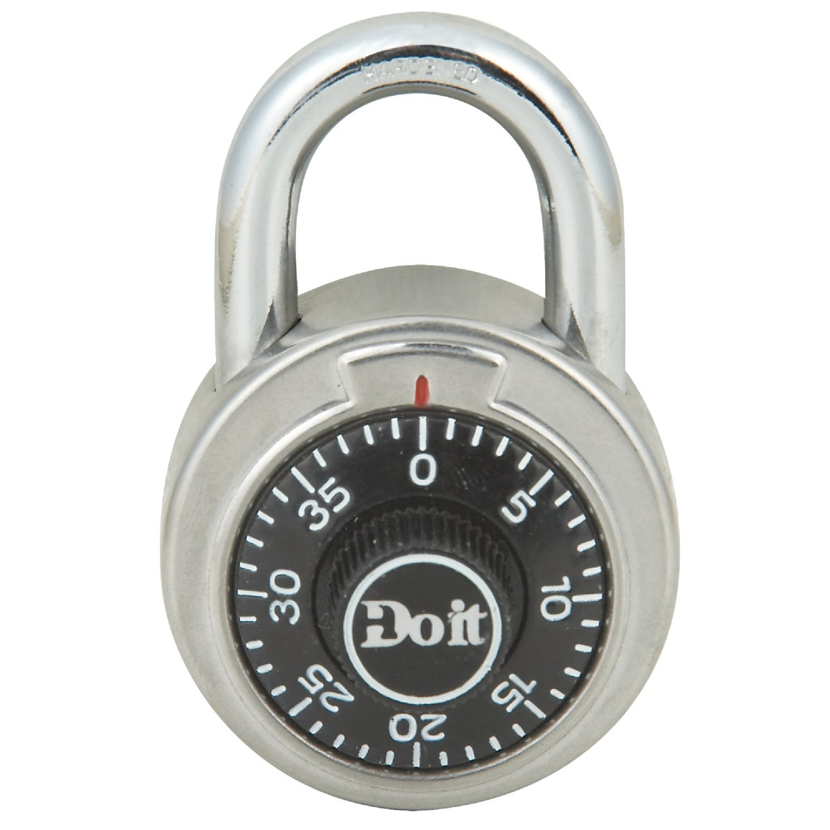 DIAL COMBINATION PADLOCK - 1850DDIB by Master Lock Company
