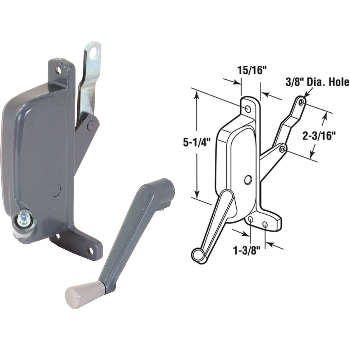 LEFT AWNING OPERATOR - 171781-L by Prime Line Products