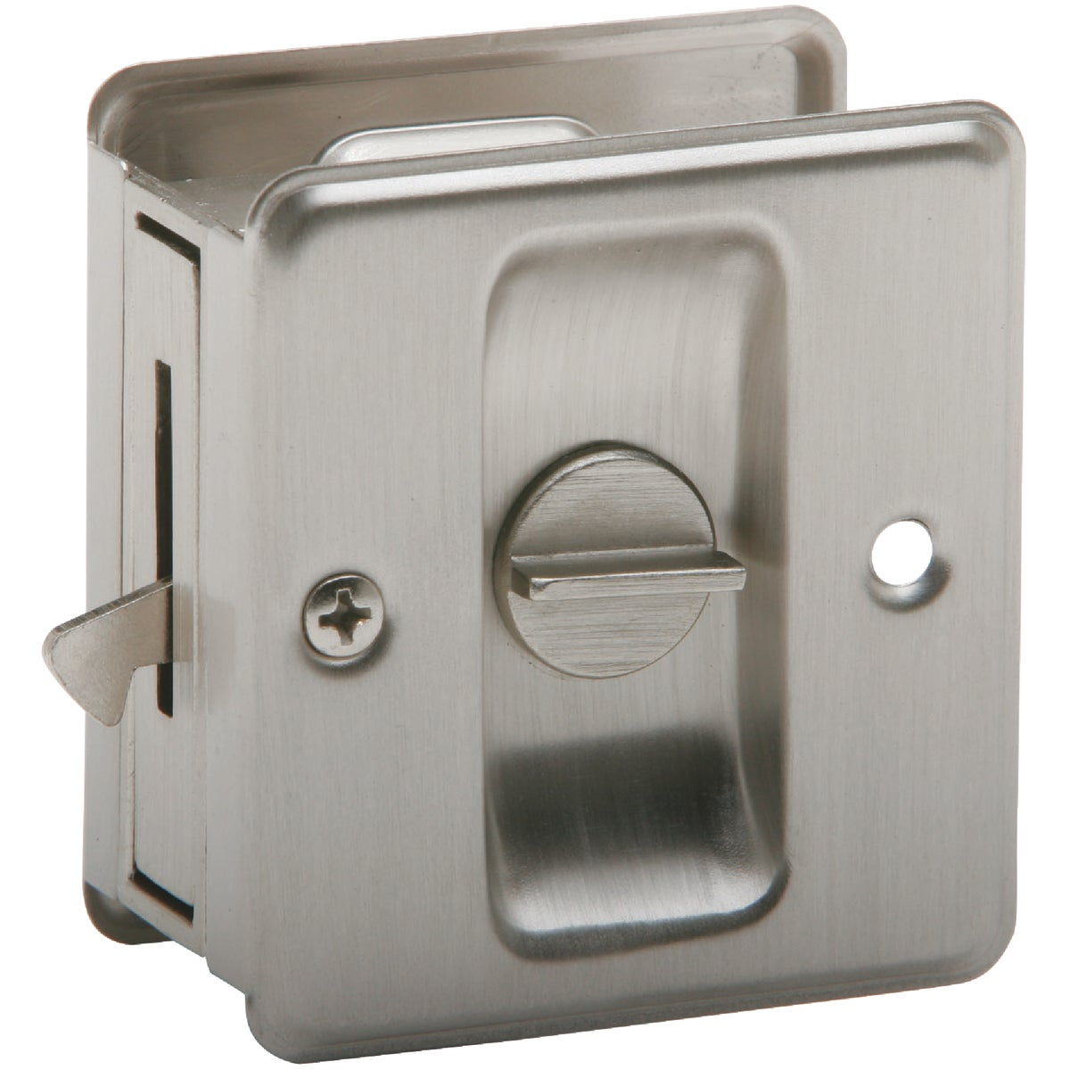 SN PRIV POCKET DOOR PULL - SC991B-619 by Schlage Lock Co