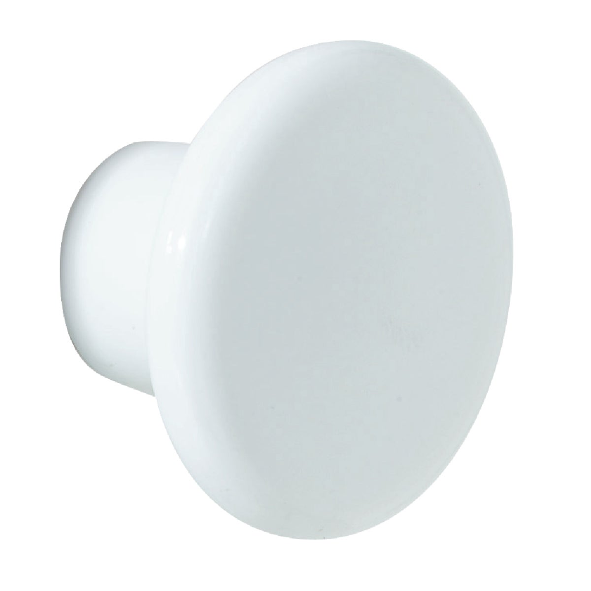 "1-1/4"" WHT PLASTIC KNOB - BP802-PW by Amerock Corporation"