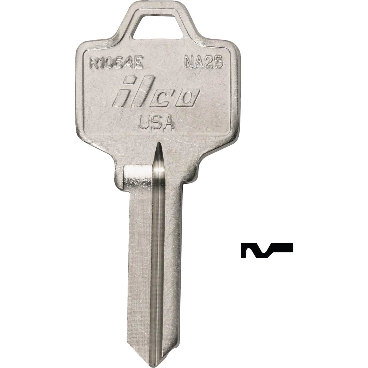 NA25 NATIONL CABINET KEY - DIB R1064E DIB by Ilco Corp
