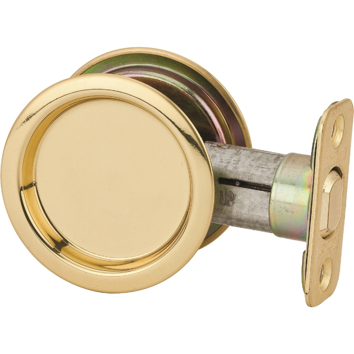 PB PASS POCKET DOOR PULL - 334 3 by Kwikset