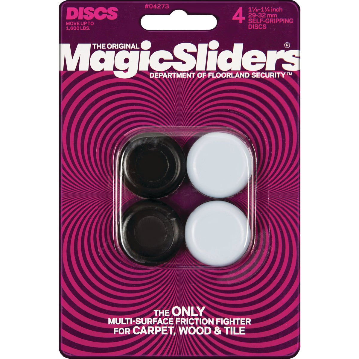 1-1/8TO1-1/4 RND SLIDER - 04273 by Magic Sliders