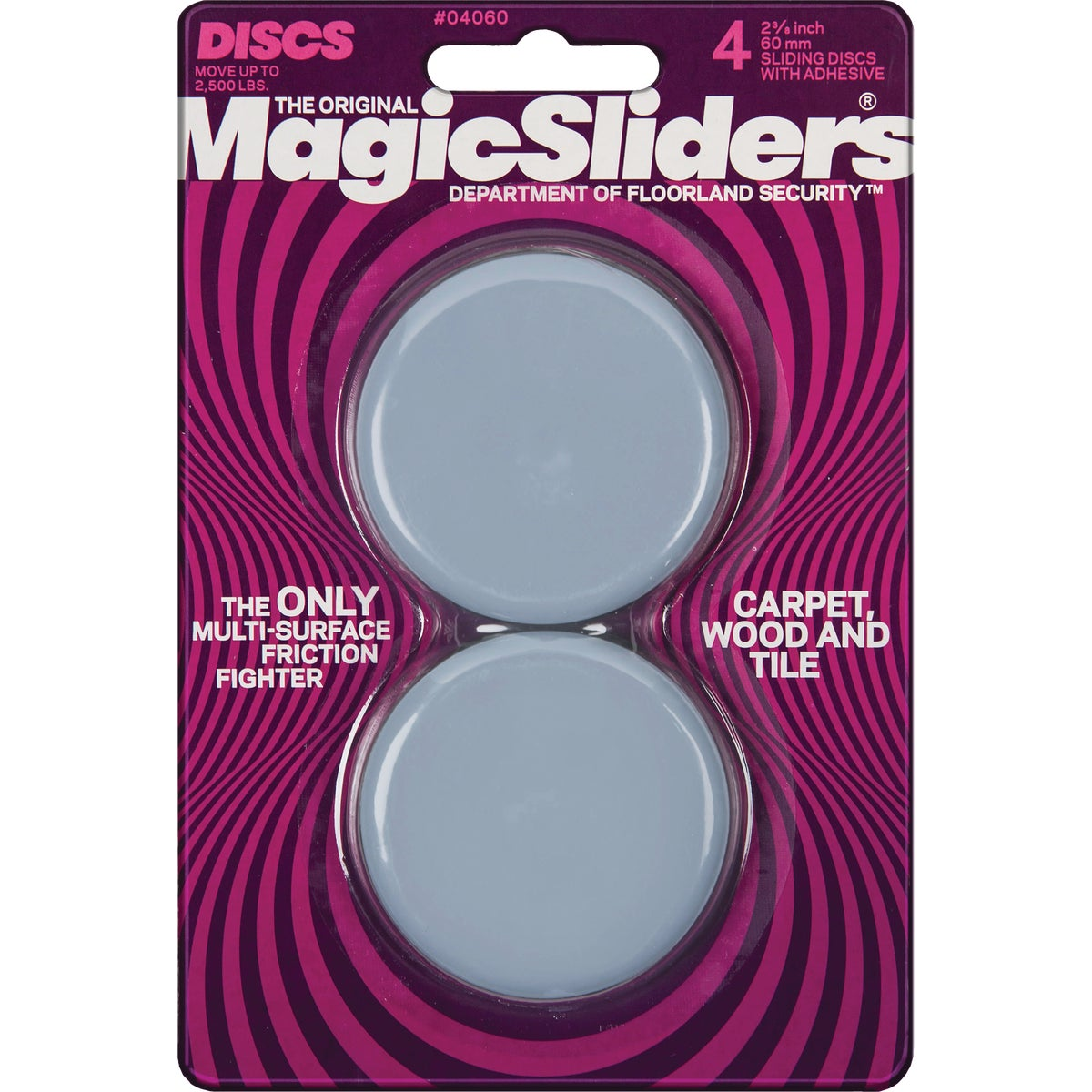 "2-3/8"" RND MAGIC SLIDER - 04060 by Magic Sliders"