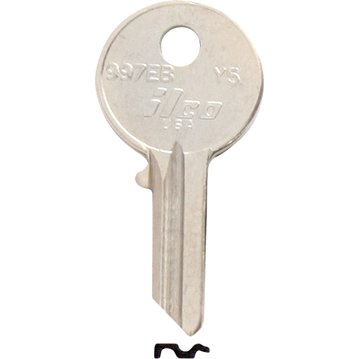 Y5 YALE DOOR KEY - 997EB by Ilco Corp