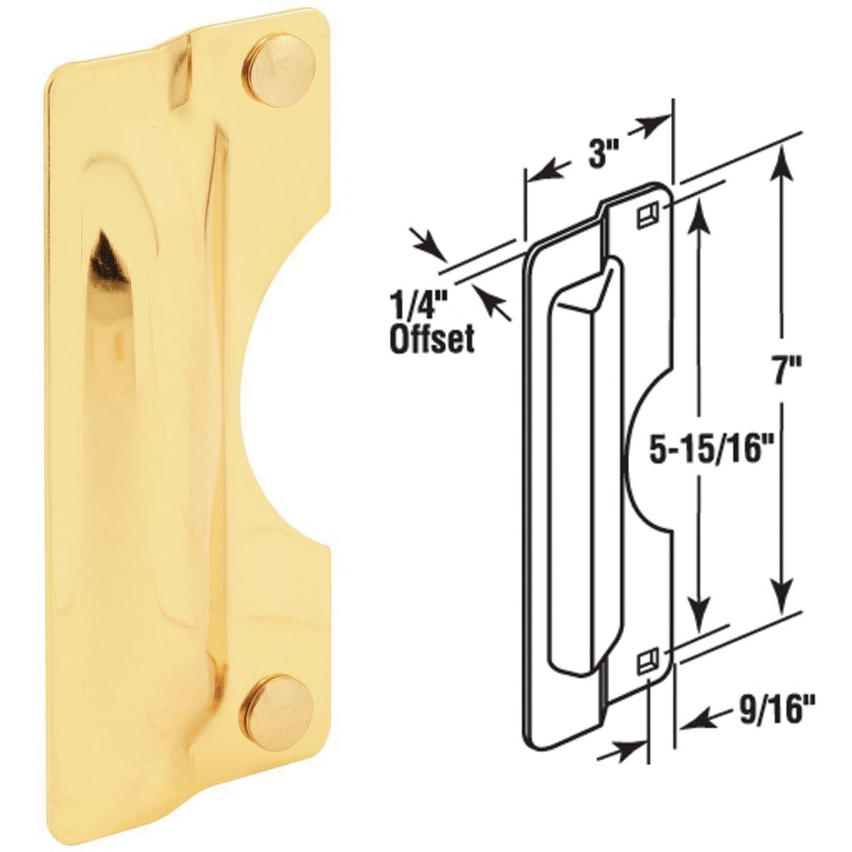 "7"" PB LATCH GUARD"